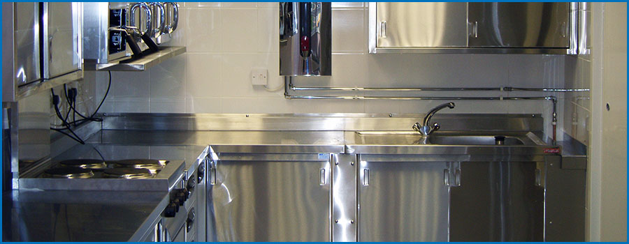 Stainless Steel Catering Fabrication Extraction Hoods